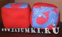 Кубики для малышей (hand made)