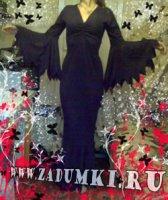 Платье Семейка Адамс (hand made)