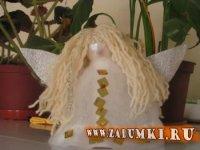 Кукла Белокурый ангел (hand made)