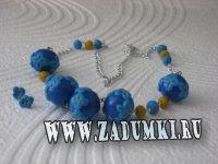 Цветочные украшения (hand made)