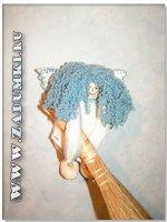 Ангел на метле (hand made)