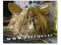 Кукла с крыльями (hand made)