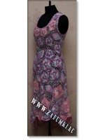 Платье в цветах (hand made)