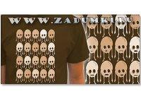 Зомби на футболке (hand made)