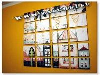 Рисунок на стене с помощью растербации - репр. Саутера Салазара /Souther Sa ...