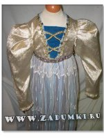 Детское платье в стиле эпохи Ренессанса (hand made)