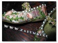 Экзотические сандали (hand made)