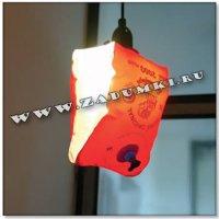 Светильник из плавников (hand made)