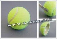 Наушники из теннисного мячика (hand made)