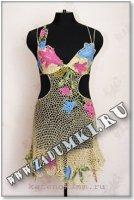 Платье в стиле ирландского кружева (hand made)