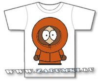 South Park. Kenny McCormick. Трафарет. (hand made)