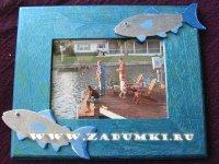 Рамка Рыбака (hand made)