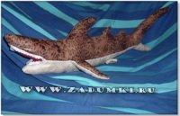 Акула в постели (hand made)