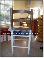 Модернезированный бабушкин стул (hand made)