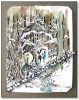 Картина Хроники Нарнии (hand made)
