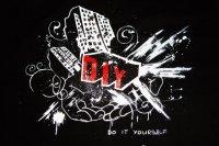 Роспись на футболке DIY - Do It Yourself! (hand made)