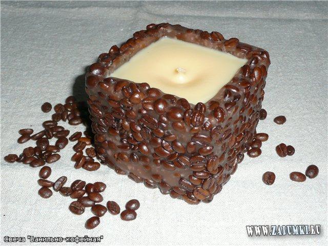 Свечка с кофе своими руками