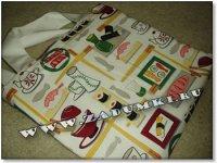 Суши-бар на сумке (hand made)