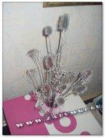 Композиция из сухих цветов (hand made)