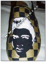 Элвис Пресли на ботинках (hand made)