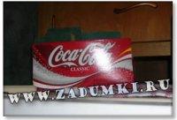 Дизайн кухни в стиле Coca Cola (hand made)