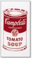 Кроссовки в стиле Поп-арт (Andy Warhol: Campbell's Soup Can (Tomato))