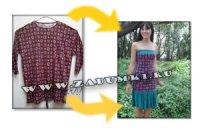 Чудесное превращение футболки в платье… (hand made)