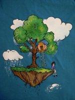 Flying Island (hand made)