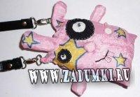 Сумка под мобилу Бешеный кролик (hand made)