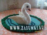 "Игрушка ""Лебедь"" (hand made)"