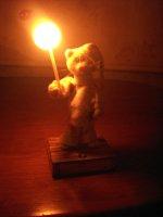 Котик - ночной светильник