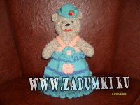 Мое рукоделие: Медведица-хозяйка