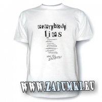 Доктор Хаус и его симптомы на футболке (hand made)