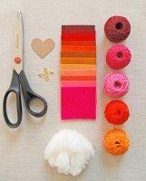 Урок по изготовлению валентинок (фото)