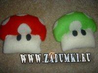 Грибочки из игры Марио (hand made)