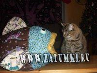 Домик-рыбка для кошек