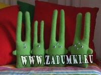 Креативные игрушки - Зайцы