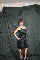 Платье с пятном