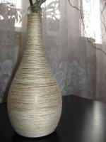 Бутылочная ваза
