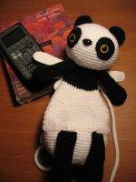 Панда рюкзачок