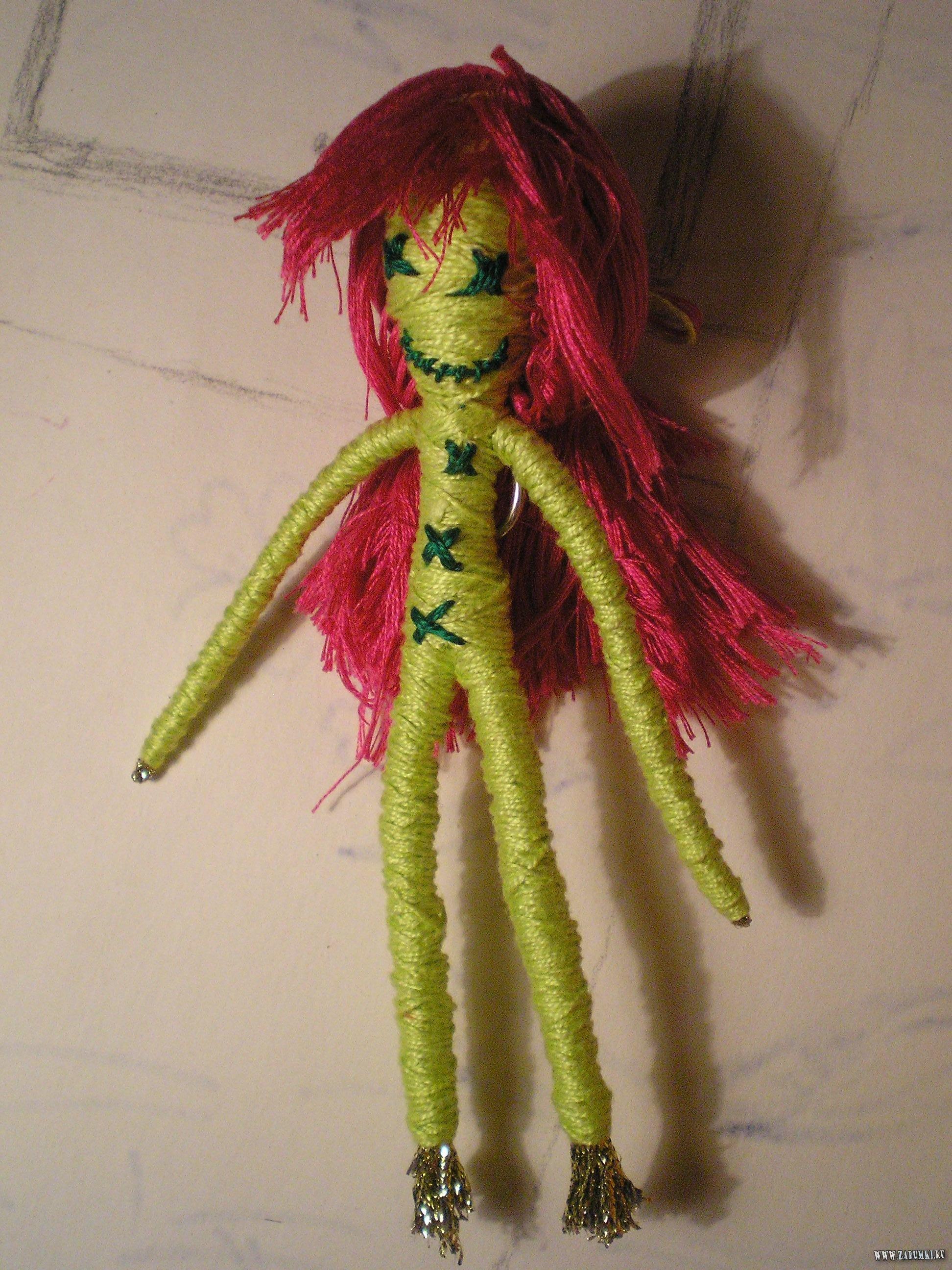Кукла вуду как сделать