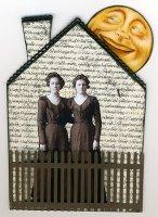 Домик из открыток (hand made)