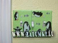Выключатель с пингвинами