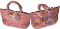 Чудесная розовая сумочка