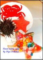 Морская звезда (мыло ручной работы)