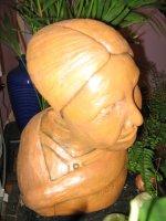"""Скульптура """"Моя бабулька"""""""