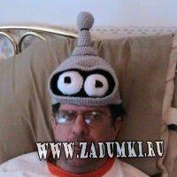 """Вязанная шапка """"Futurama"""""""