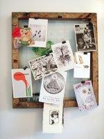 Рамка-держатель для почтовых открыток (hand made)