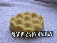 Антицеллюлитные массажные плиточки ручной работы
