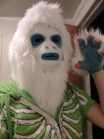 Костюм Йети - снежного человека.